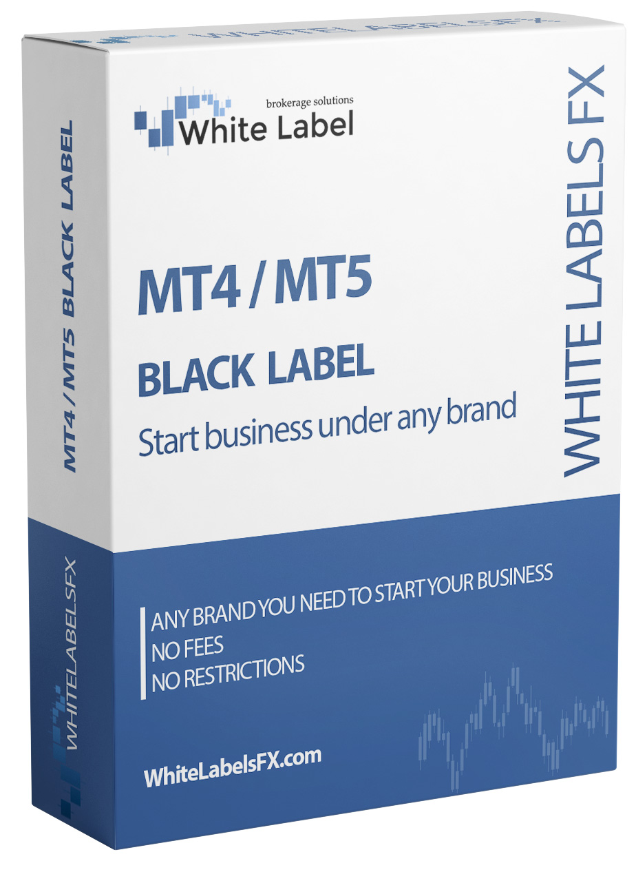 MT4 / MT5 Black Label - your brokerage business in 1 day